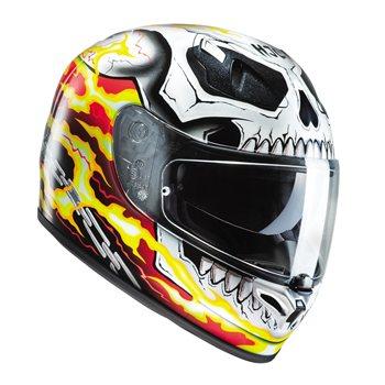 HJC FG-ST Ghost Rider Motorcycle Helmet HJC-FG-ST-Ghost-Rider-Motorcycle-Helmet - Click to view larger image