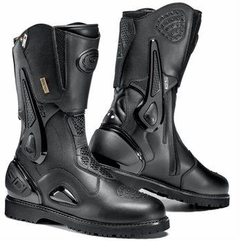 UK 10.5 Sidi Performer Motorcycle Boots 45 Black