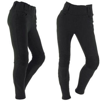 Richa Kodi Ladies Leggings - Regular Leg (Black) Richa Kodi Ladies Leggings Black - Click to view larger image
