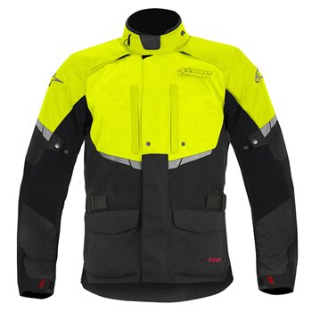 Alpinestars Andes Drystar Jacket (Black & Fluo Yellow) Alpinestars-Andes-Drystar-Jacket-Black--Fluo-Yellow - Click to view larger image