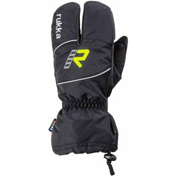 Rukka Chamb 3 Finger Gore-Tex Motorcycle Gloves  - Click to view larger image