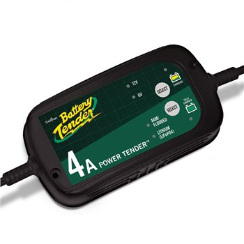 Deltran Power Tender 4 Amp Lithium Selectable Charger Deltran-Power-Tender-4-Amp-Lithium-Selectable-Charger - Click to view larger image