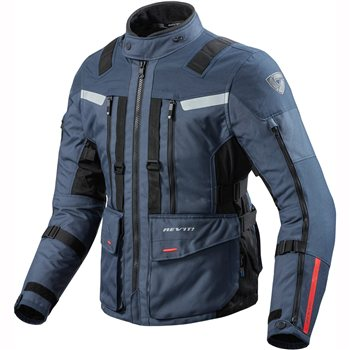 Revit Sand 3 Textile Motorcycle Jacket (Dark Blue-Black) 1