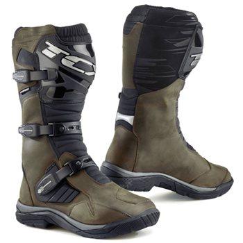 57a2f0a33c1158 TCX Baja Waterproof Motorcycle Boot (Brown) TCX Baja Waterproof Motorcycle  Boot Brown - Click
