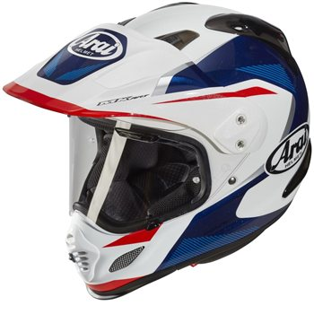 1e8bbaa7 Arai Tour-X 4 Motorcycle Helmet BREAK (Blue) | The Visor Shop.com