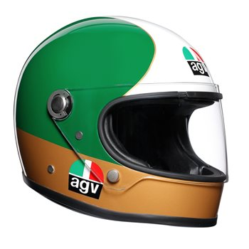 AGV Legends X3000 Agostini Limited Edition Helmet RRP £549.99 Pre-Order Now 50% Deposit AGV-X3000-Agostini-Limited-Edition-Helmet - Click to view larger image
