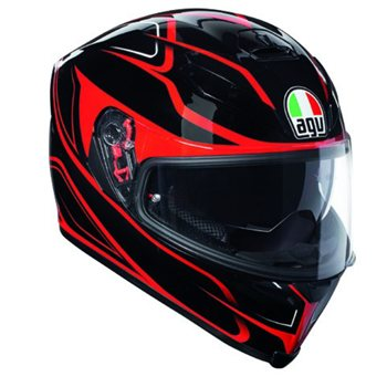 AGV K5-S Magnitude Motorcycle Helmet (Black|Red) AGV-K5-S-Magnitude-Motorcycle-Helmet-Black-Red - Click to view larger image