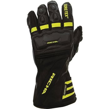 Richa Cold Protect Gore-Tex Glove (Black/Yellow) Richa-Cold-Protect-Gore-Tex-Glove-Black-Yellow - Click to view larger image