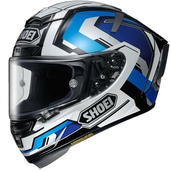 81c79840 Shoei X-Spirit 3 Brink TC-2 Helmet (Blue|White|Black) | The Visor ...