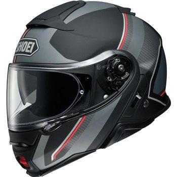 Shoei Neotec 2 Flip Front Helmet Excursion TC5 (Matt Black|Grey)  - Click to view larger image