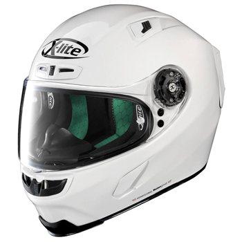 X-Lite X-803 START Motorcycle Helmet (Metal White) X-Lite X-803 START Motorcycle Helmet Metal White - Click to view larger image