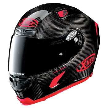 X-Lite X-803 Ultra Carbon PURO SPORT Helmet (Carbon/Red) X-Lite-X-803-Ultra-Carbon-PURO-SPORT-Helmet-Carbon-Red - Click to view larger image