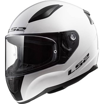 LS2 FF353 Rapid Motorcycle Helmet (Gloss White) 1