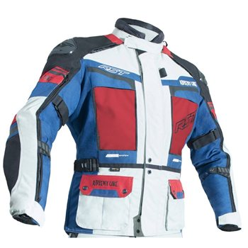RST Pro Series Adventure III CE Jacket 2850 (Ice Blue|Red) RST Pro Series Adventure III CE Jacket 2850 Ice Blue-Red - Click to view larger image