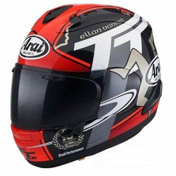 Arai RX-7V IOM TT 2018 Helmet  Arai RX-7V TT 2018 Helmet - Click to view larger image