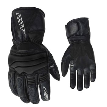 RST JET CE Waterproof Motorcycle Glove 2106 (Black)  - Click to view larger image