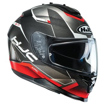 dece6c9d HJC IS-17 Loktar MC2 Motorcycle Helmet (Red)   The Visor Shop.com