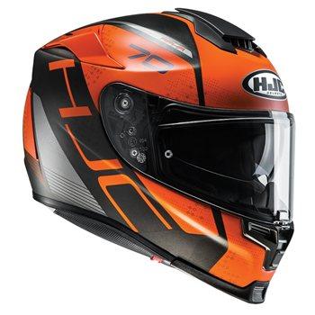 HJC RPHA 70 Vias Motorcycle Helmet (Orange) HJC-RPHA-70-Vias 1efbe23829d