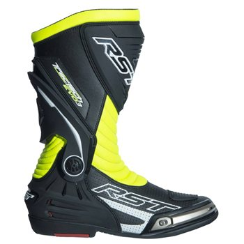 Tractech Evo 3 Sport CE Motorcycle Boot 2101 (Fluo Yellow) UK 6 EU 40