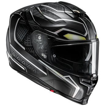 HJC RPHA 70 Black Panther Motorcycle Helmet  - Click to view larger image