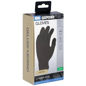 Oxford Deluxe Merino Inner Gloves Deluxe Merino Inner Gloves - Click to view larger image