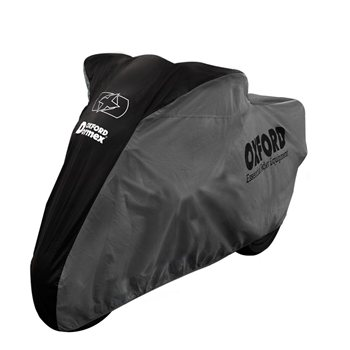 Oxford Protex Premium Stretch Motorcycle Cover Indoor Motorbike Dust Medium Blue