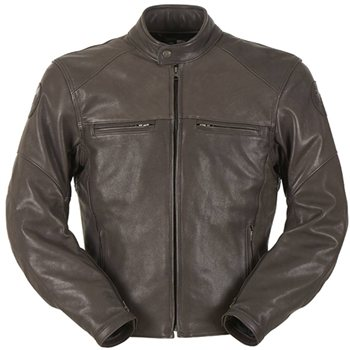 Furygan Vince Hunt Leather Jacket (Brown) Furygan-Vince-Hunt-Leather-Jacket-Brown - Click to view larger image