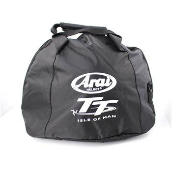 e4c8dabc99 Arai Helmet Bag Fleece Lined Limited Edition IOM TT Logo - Click to view  larger image