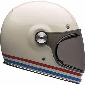 Bell Bullitt Helmet Stripes Pearl White