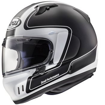 Arai Renegade-V OUTLINE Motorcycle Helmet (Frost Black) Arai Renegade-V OUTLINE Motorcycle Helmet Frost Black - Click to view larger image