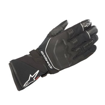 Andes Touring Outdry Motorcycle Gloves (Black) - (08) Small