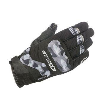 Alpinestars C-30 Drystar black camouflage gloves Free shipping