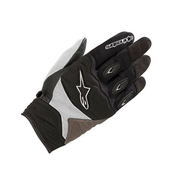 Alpinestars Stella Shore Motorcycle Gloves (Black/White) Alpinestars-Stella-Shore-Motorcycle-Gloves-Black-White - Click to view larger image