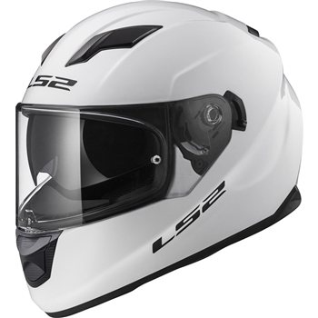 LS2 Stream FF320 Evo Helmet (Gloss White)  - Click to view larger image