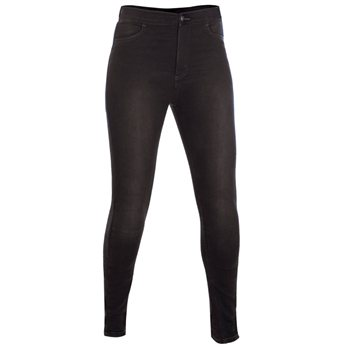 Oxford Ladies Super Jeggings (Black) - Short Leg (26) Oxford Ladies Super Jeggings Black - Short Leg - Click to view larger image