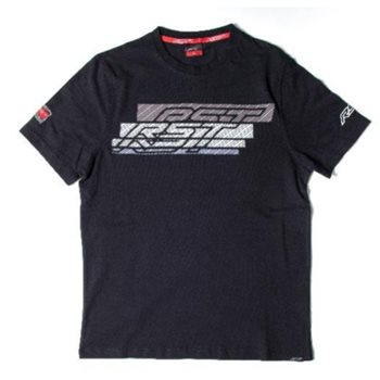 RST T-Shirt Speed Lines II 0158 (Black|White)  - Click to view larger image