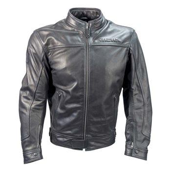 Richa Cafe Leather Jacket (Black) Richa-Café-Leather-Jacket-Black - Click to view larger image
