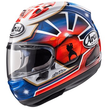 Arai RX-7V Pedrosa Spirit Blue Motorcycle Helmet  - Click to view larger image