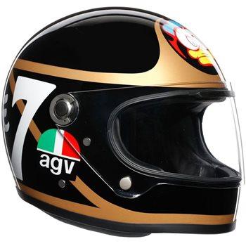 AGV Legends X3000 Barry Sheene Replica Helmet  - Click to view larger image