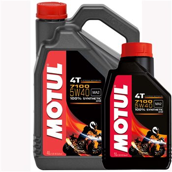 Full Synthetic Oil >> 7100 5w40 High Performance Fully Synthetic Oil 1 Litre