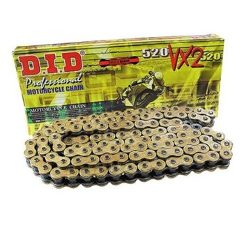 DID 525VX-110 X-Ring Chain with Connecting Link