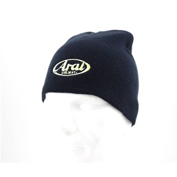 Arai Bronx Navy Beanie Hat   - Click to view larger image
