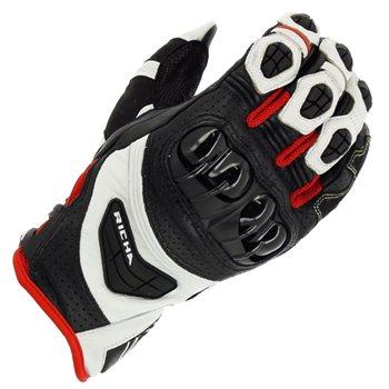 Richa Stealth Gloves (Black/White/Red) Richa-Stealth-gloves-Black-White-Red - Click to view larger image