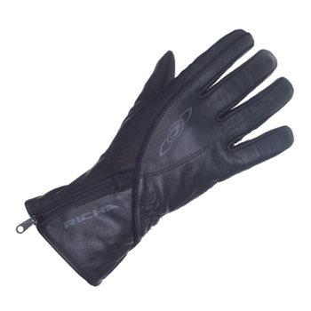 Richa Summer Lilly WP Ladies Gloves (Black) Richa-Summer-Lilly-Ladies-Glove-Black - Click to view larger image