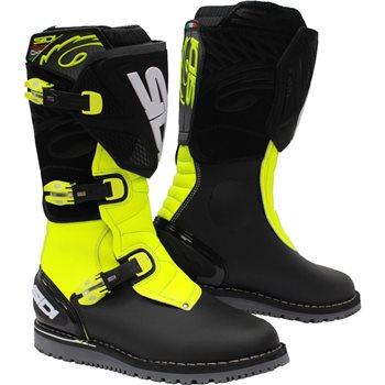 Sidi Trial Zero 1 Raga Boots (Yellow/Black)  - Click to view larger image