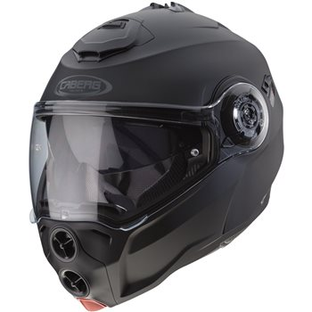 75d9eca5 Caberg Droid Flip Front Helmet (Matt Black) - Click to view larger image