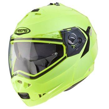 57-58cm Caberg DUKE II IMPACT DVS Double Visor Motorbike Flip Up Front Motorcycle Helmet Matt Blue//White M