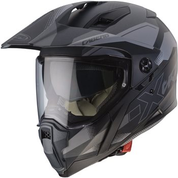 ce0eded6 Caberg X-Trace Spark Helmet (Matt Black|Anthracite|Silver) | The ...