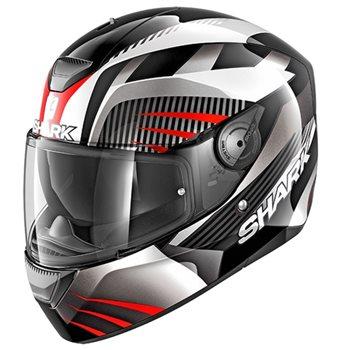 de88beb0 Shark D-SKWAL Mercurium Helmet (Black|White|Red) | The Visor Shop.com