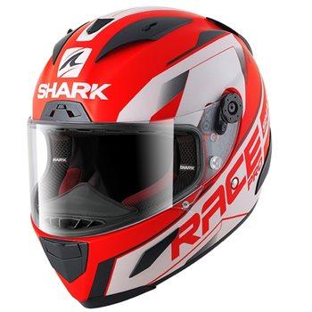 a1e4e381baa00 Shark Race-R Pro Sauer Helmet (Mat Red